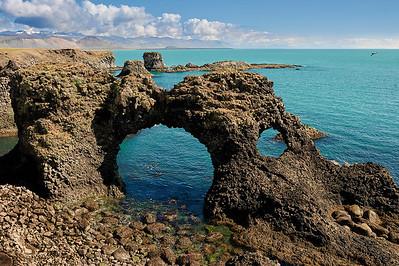 Gatklettur Arch Rock