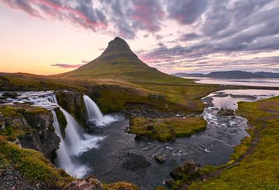 Kirkjufell and Kirkjufellfoss