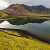 Frostastaðavatn  lake reflection