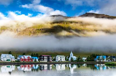Morning- Seydisfjordor, Iceland