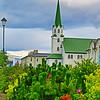 Reykjavik, Tjornin Lake garden