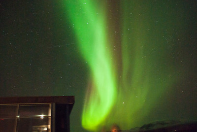 Northern Lights in Thingvellir Park