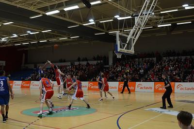 Icelandic Pro Basketball. More than ten teams on an island of 300,000. Good ball.