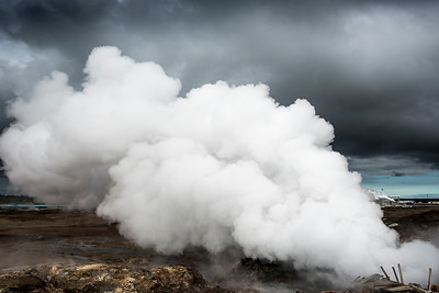 Steam Vents- Grindavik, Iceland