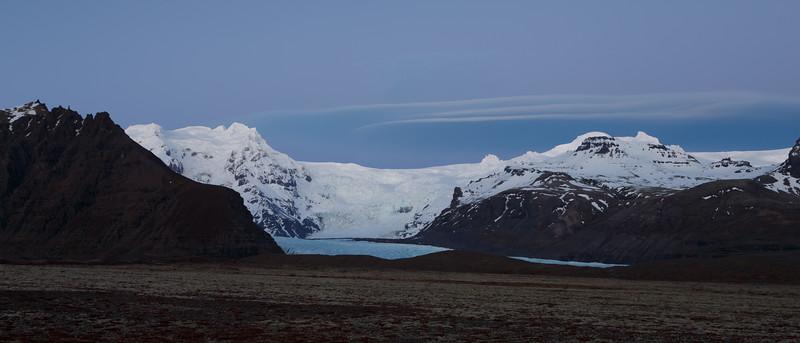 Svinafellsjökul glacier