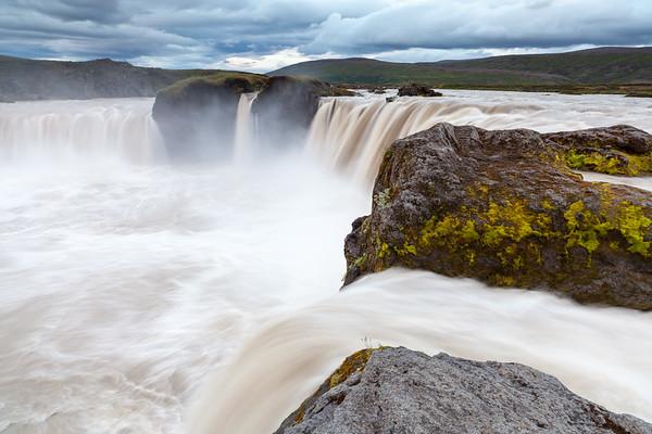 Godafoss waterfall, Iceland, 2013