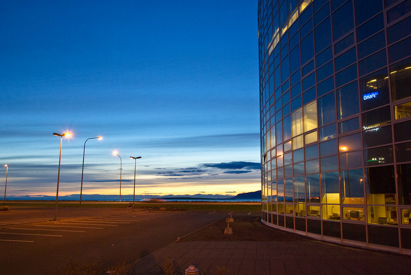 Parking with a wiew<br /> Reykjavik