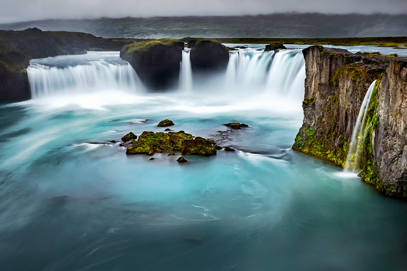 Grey Day at Godafoss