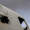 American aircraft wreck at Skogasandur