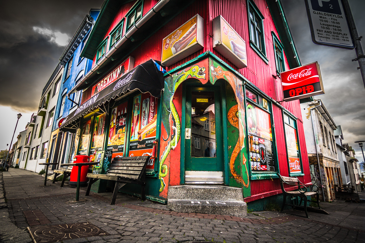The Brightly Coloured Shop Of Mystery