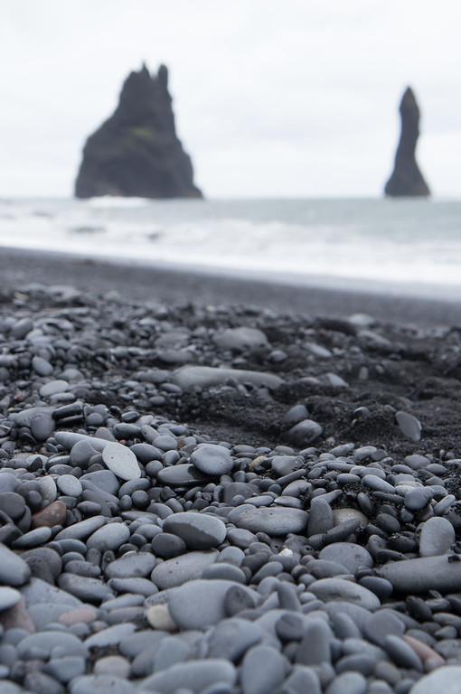 Vík í Mýrdal  Black Sand Beach, Iceland.