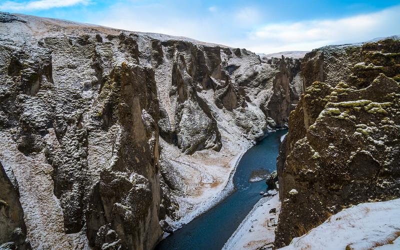 Fjaðrárgljúfur, Eastern Region, Iceland