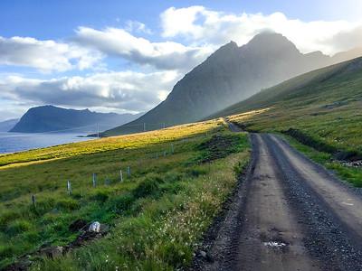 Coastal Road- Dalatangi, Iceland