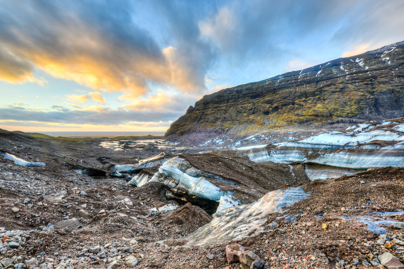 Vatnajokull Glacier Trail, Iceland