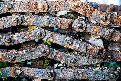 Herring Factory Chain- Djupavik, Iceland