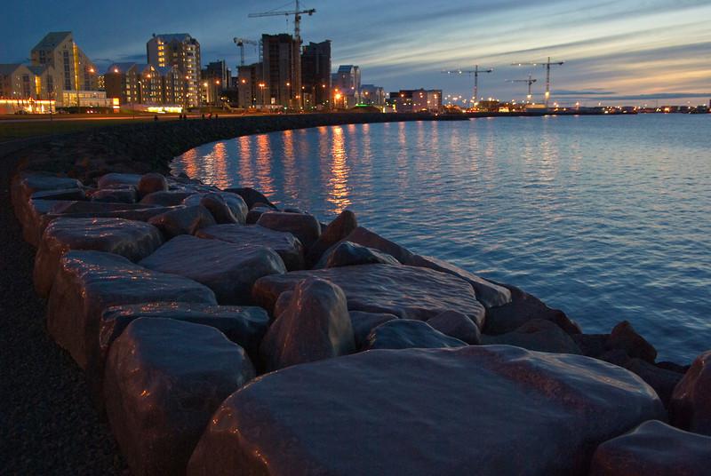 Seaside sculpture <br /> Reykjavik