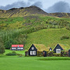 Traditional Icelandic houses.