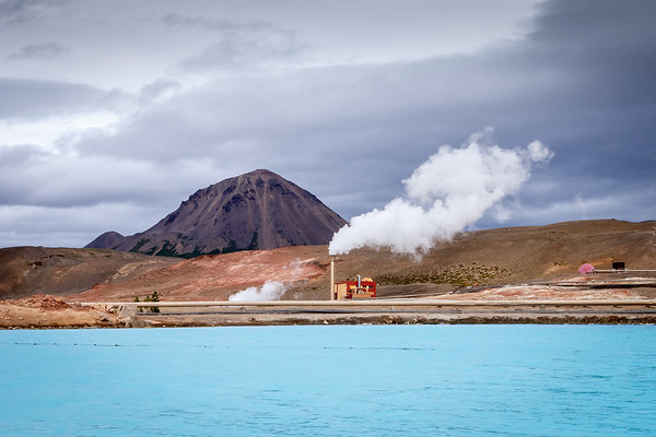 Geothermal powerplant, Iceland