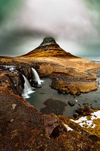 Kirkjufellsfoss, the Horn Mountain