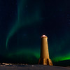 Akranes lighthouses, Vesturland, Iceland