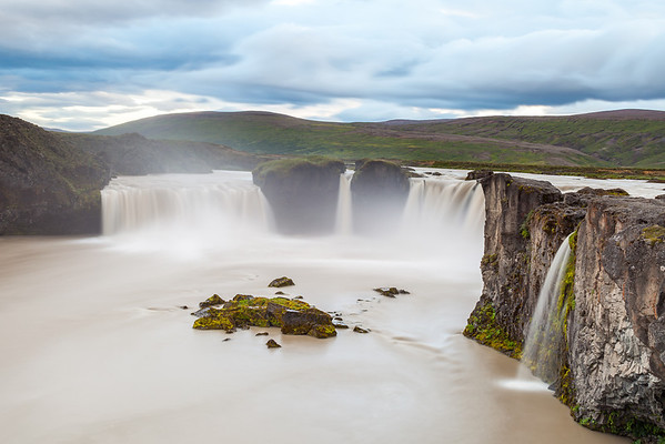 Godafoss waterfall, North Iceland