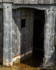 Door to flooded viking house