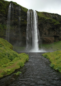 Waterfall near Þórsmörk