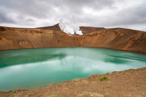 Viti crater in Krafla, North Iceland