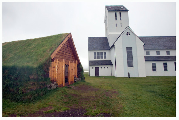 Believe this is the church in Skalholt, the center of Christrianity in Iceland from the mid-11th to the 18th Century.
