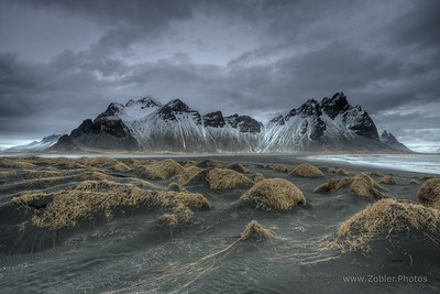 Stokknes beach, Iceland.  One spooky place. Perfect for filming a Zombie movie, I think.