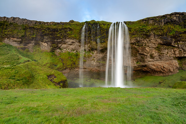 Seljalandsfoss waterfall,  South-West Iceland