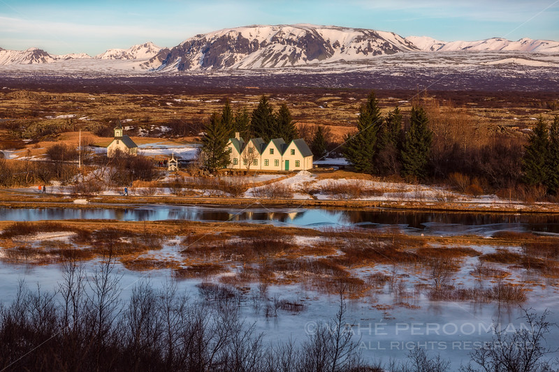 Church and Houses, Thingvellir