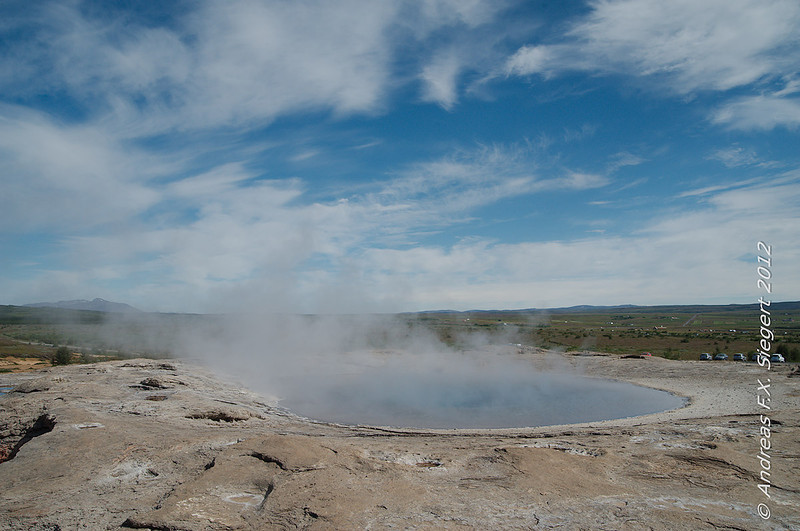 The original Geysir is no longer active