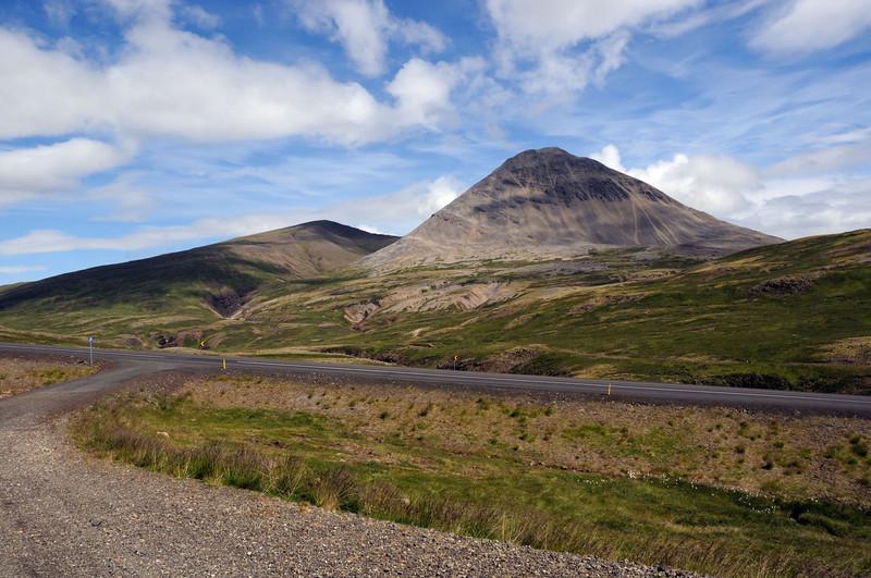 Volcanic evidence near Stadharhraun.