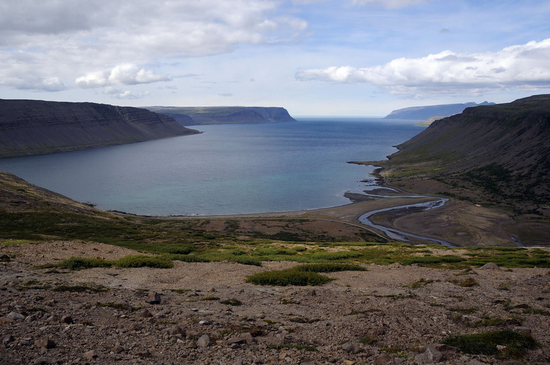 From east south east of Bíldudalur.