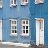 Houses in Adalstraeti in Ísafjörður.