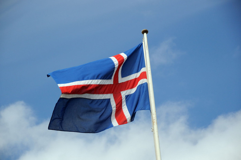 The Icelandic Flag.
