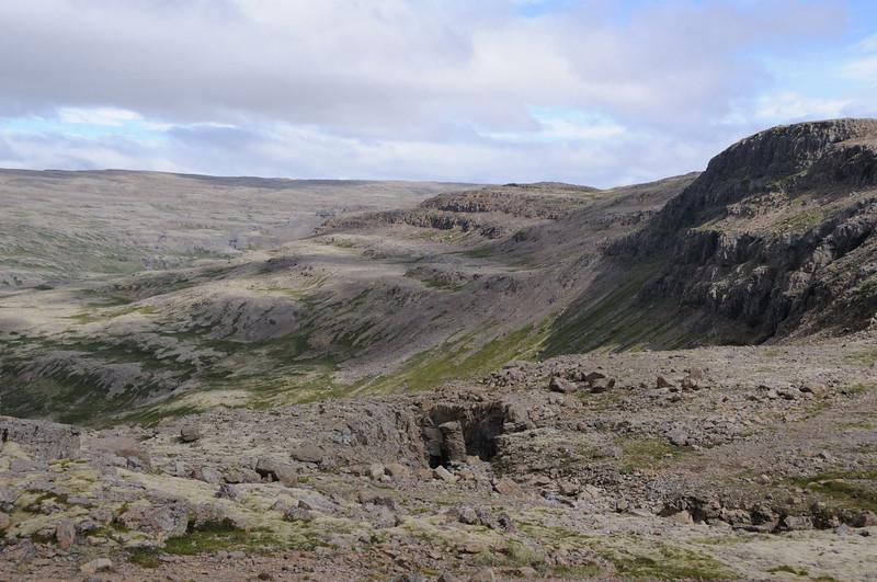 Lava fields north west of Brekkuvellir.
