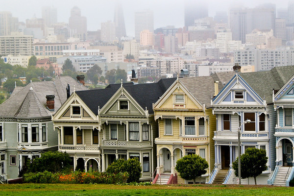 San Francisco -The Painted Ladies