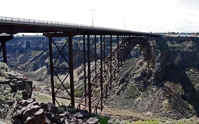 Perrine Bridge and Surrounding Area - Twin Falls