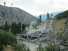 Hot springs along the Payette River.