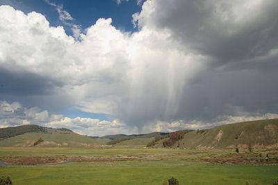 Storm near Stanley, ID.