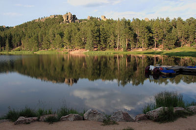 Sylvan Lake, Custer SP, SD.