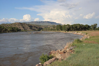The Yellowstone River East of Livingston, MT.