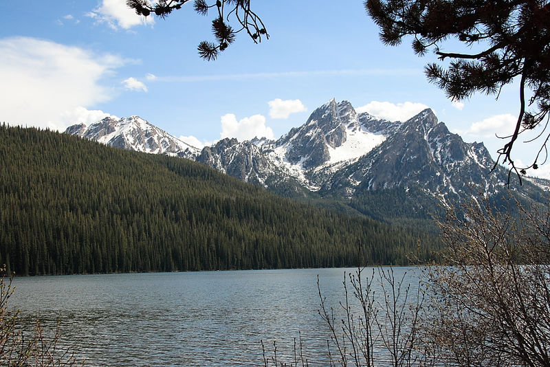 Stanley Lake, Sawtooth Nat'l Rec Area, ID.