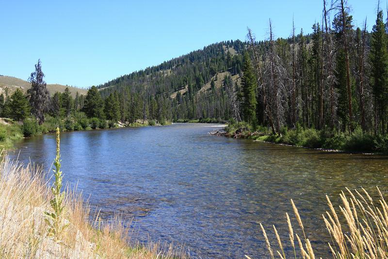Salmon River, near Stanley, ID
