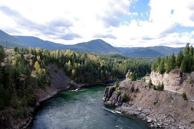 The Cabinet Dam Gorge lies at the border of Idaho and Montana.