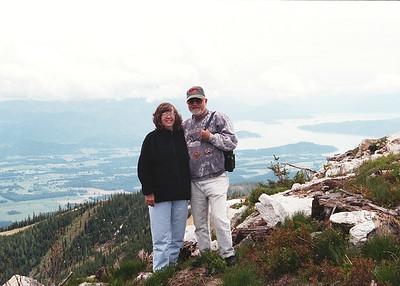 Mountain top overlooking Pend Oreille