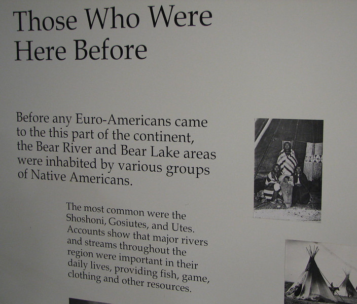 Native American Role - Oregon-California Trail Center, Montpelier, ID  9-7-10