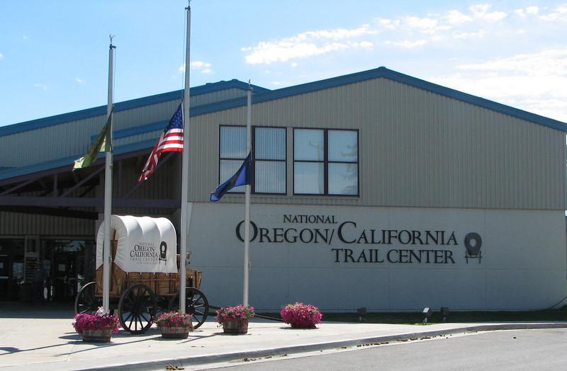 Oregon-California Trail Center, Montpelier, ID  9-7-10